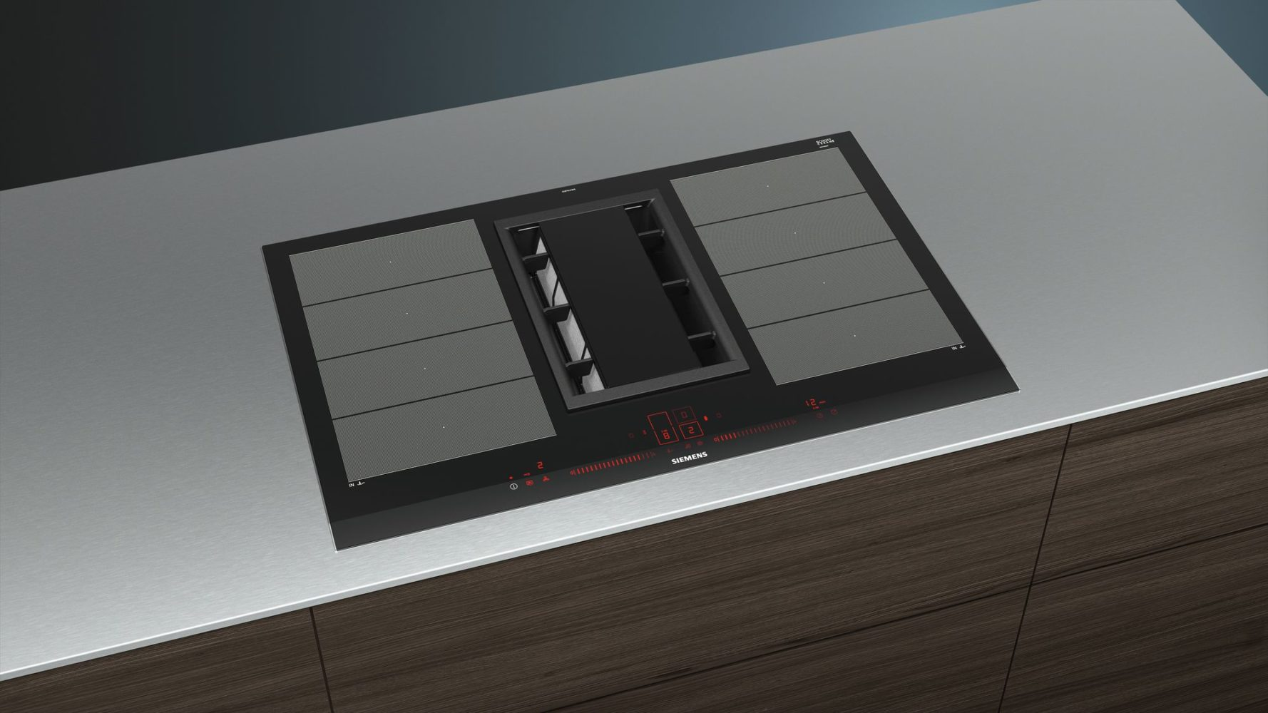 siemens downdraft hob palazzo bespoke kitchens bathrooms glasgow. Black Bedroom Furniture Sets. Home Design Ideas