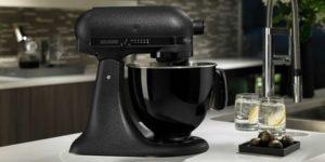 matte black mixer - monochrome