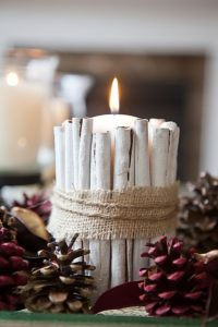 candle - Christmas decoration