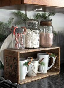 hot choc corner - Christmas decoration