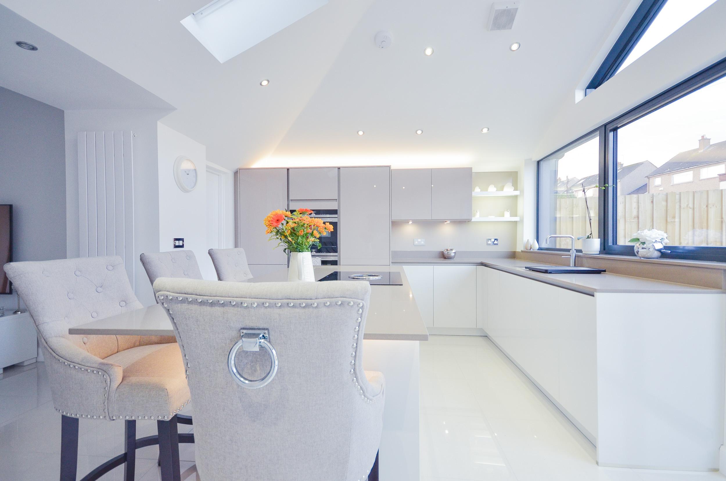 Douglas Jennifer S New Kitchen Palazzo Kitchens Glasgow