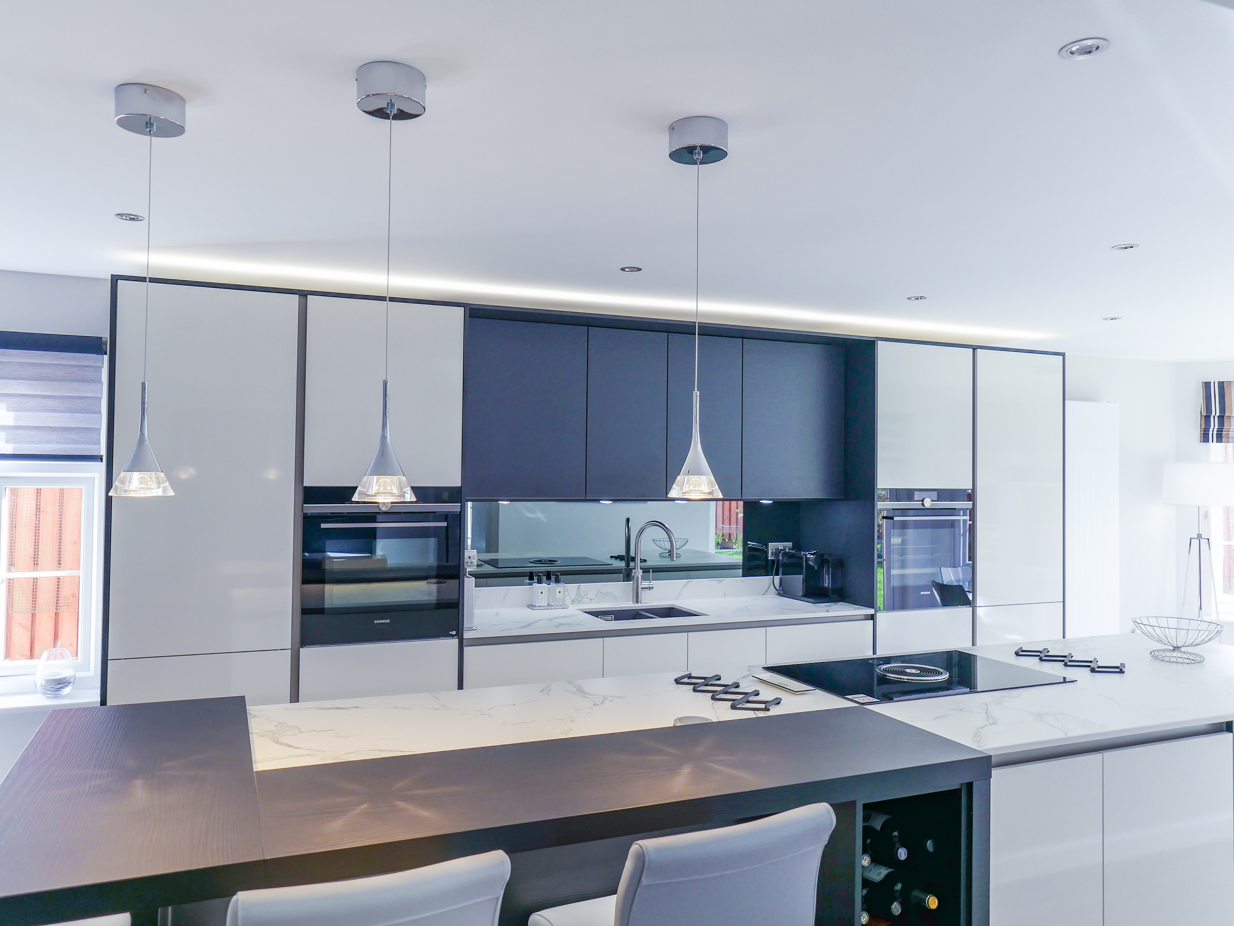 Stuart & Kay\'s New Kitchen | Palazzo Kitchens | Glasgow