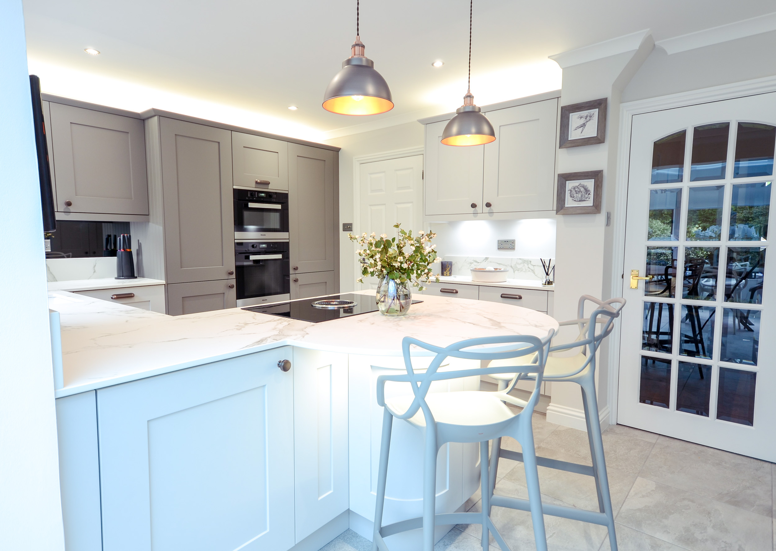 Gerard & Sandra's New Kitchen | Palazzo Kitchens | Glasgow