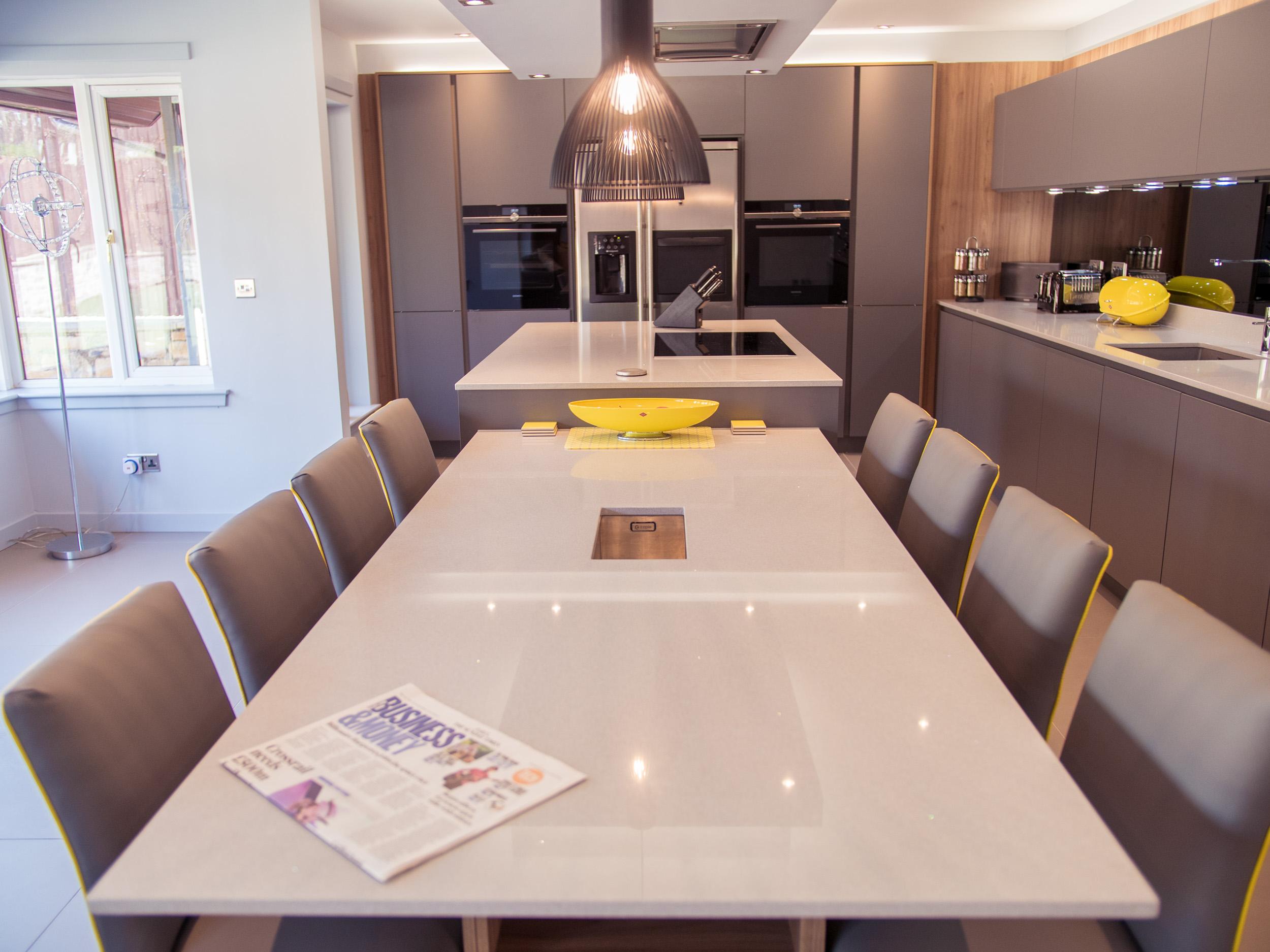 Mike S New Kitchen Palazzo Kitchens Luxury Kitchens Glasgow