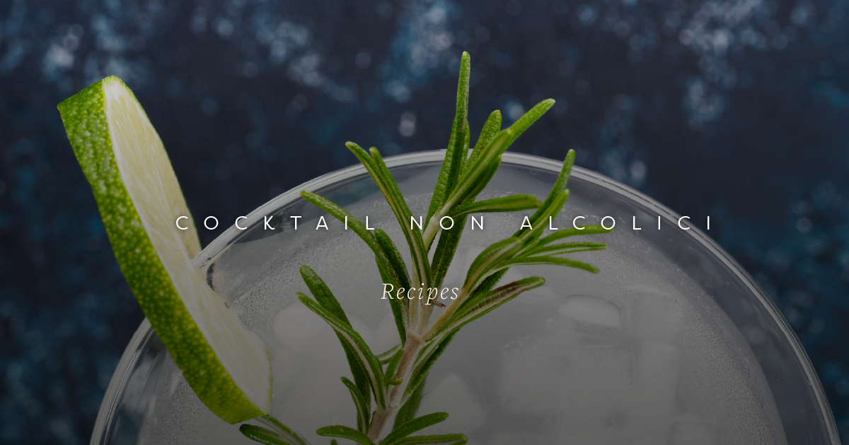 Non-Alcoholic Cocktails for Dry January | Palazzo Kitchens | Glasgow