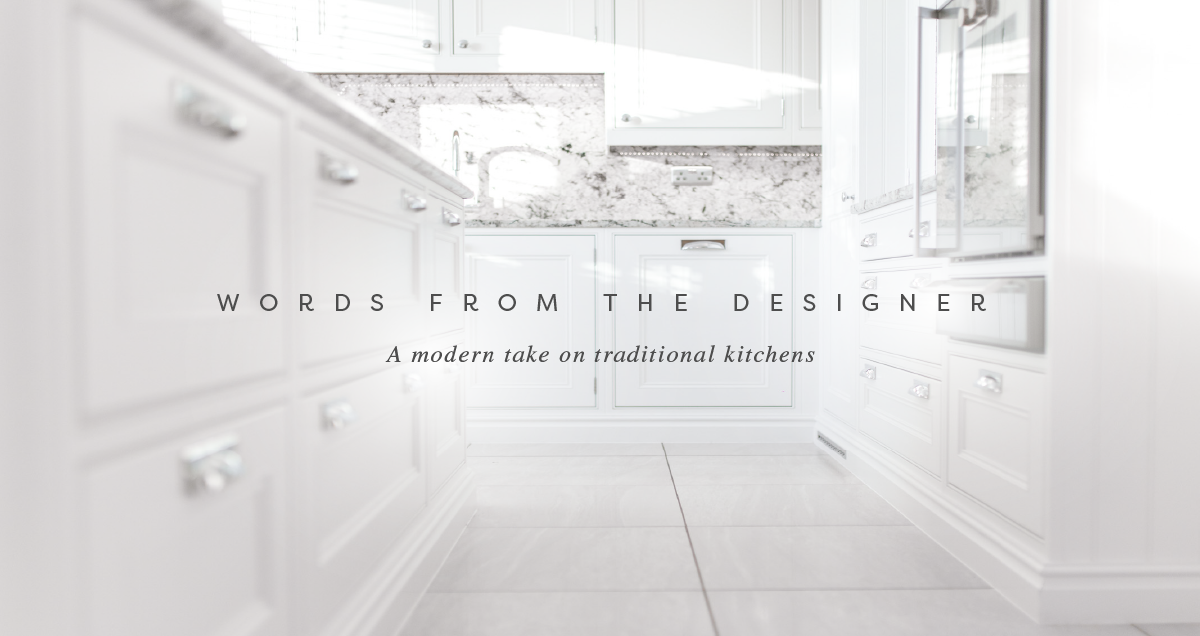 Words From The Designer | Palazzo Kitchens | Glasgow