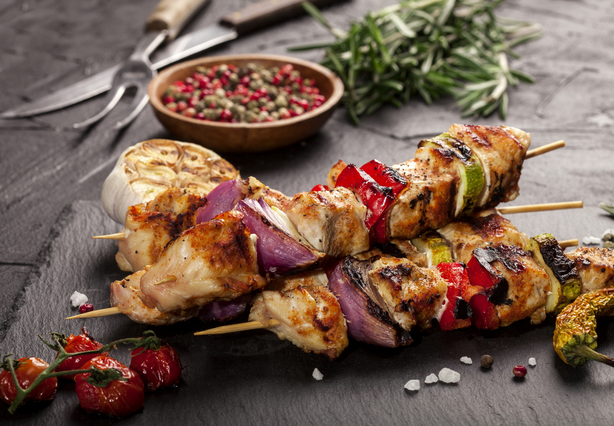 Recipe | Spicy Italian Chicken Skewers | Palazzo Kitchens