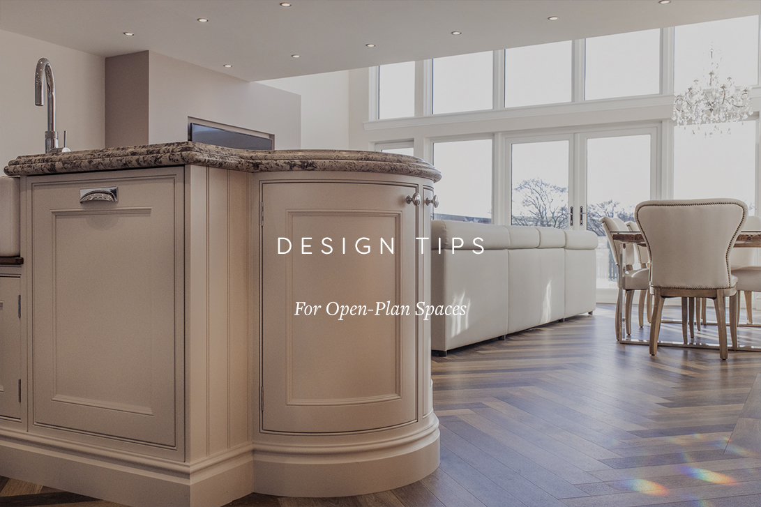 Design Tips for Open-Plan Spaces | Palazzo Kitchens